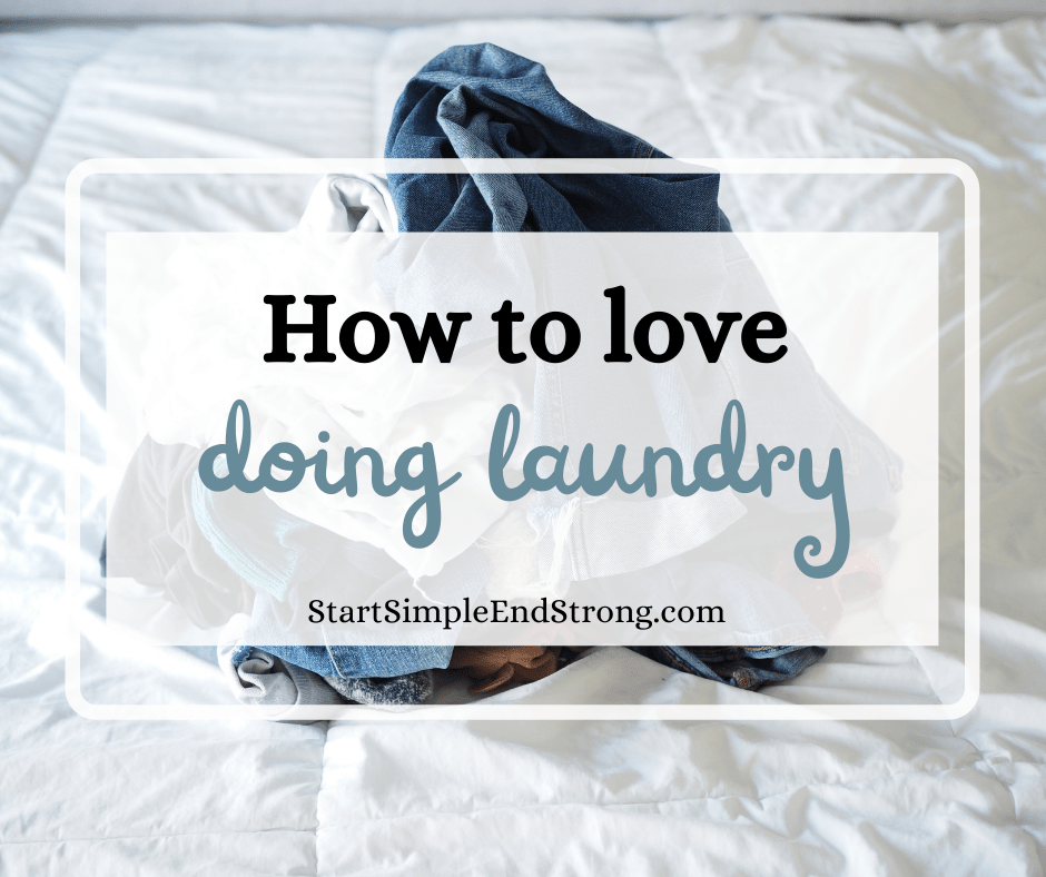 how to love doing laundry