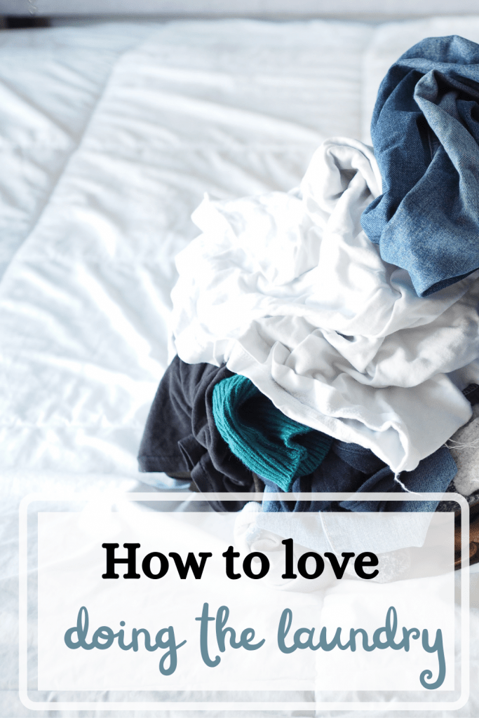 how to love doing the laundry