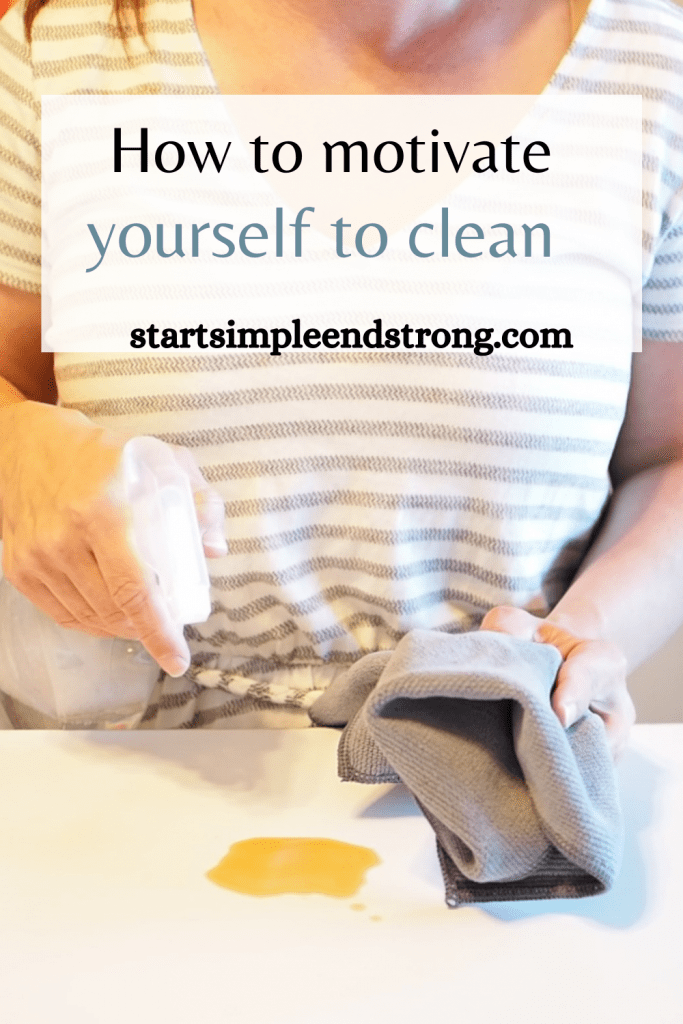 Pinterest How to be motivated to clean