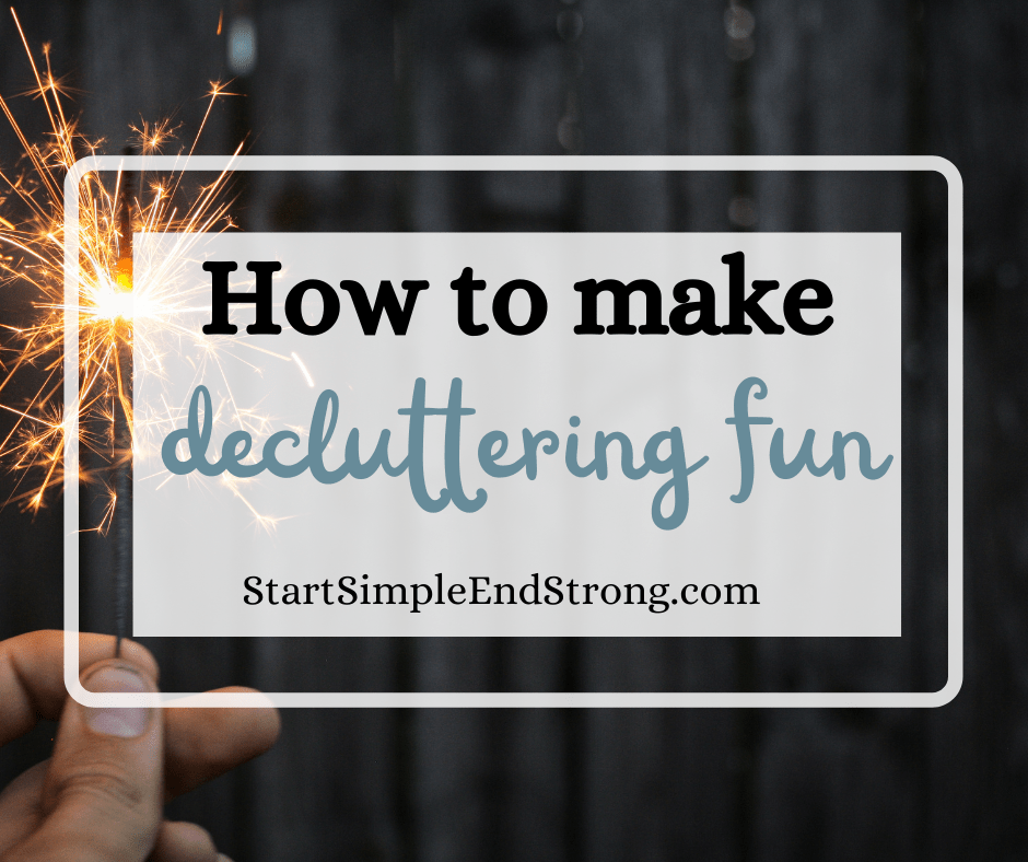 how to make decluttering fun (1)